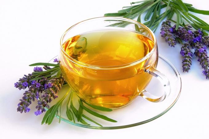 Чай з лаванди і меліси