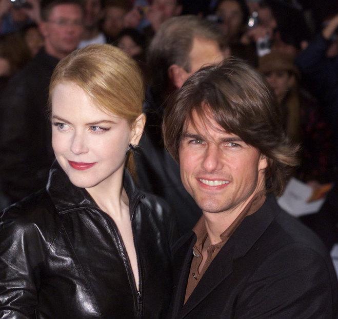 Ніколь Кідман і Том Круз, 2001 р.