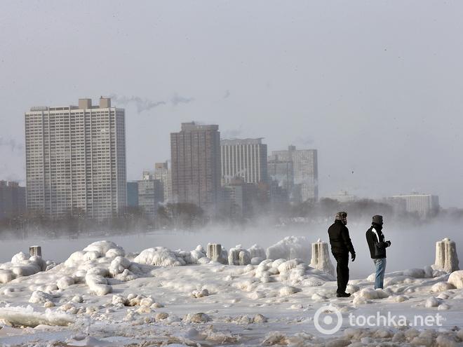 Погода в США морозы 2014 фото