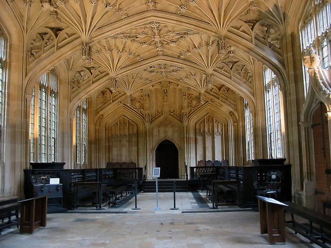 Бодлианская библиотека, Оксфорд, Великобритания
