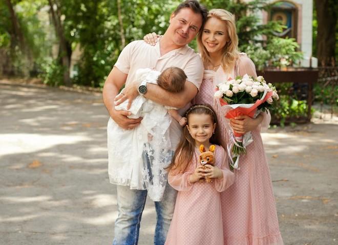 Лілія Ребрик хрестила доньку (фото)