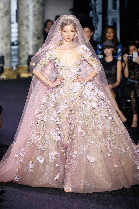 Свадебное платье на осень-зиму 2016/2017 ELIE SAAB COUTURE