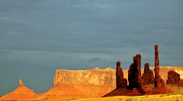 Долина монументів, США