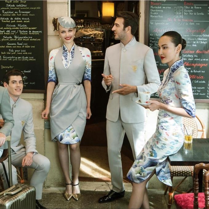 Кутюрний одяг для китайських авіаліній