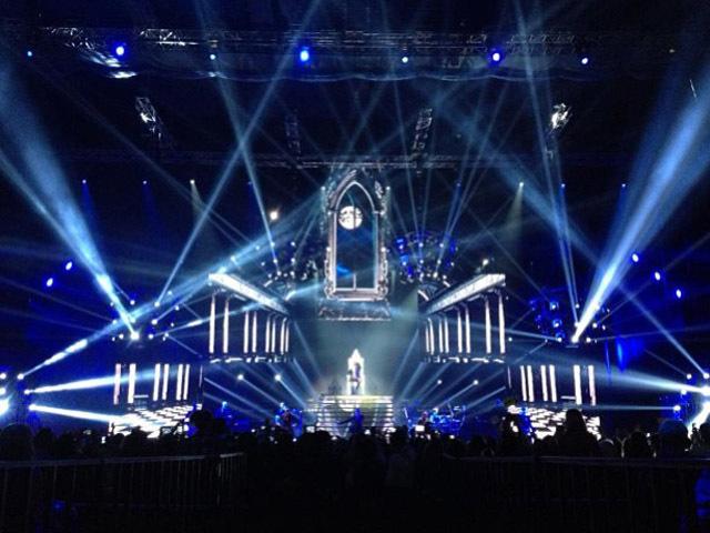 Концерт Лазарева в Москве