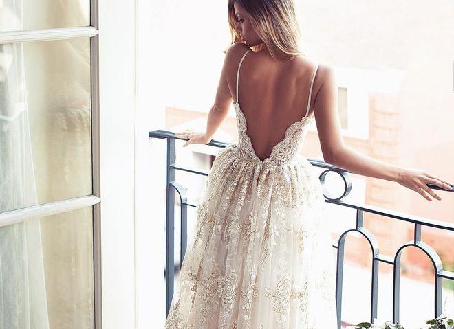 Свадебное платье на осень-зиму 2016/2017