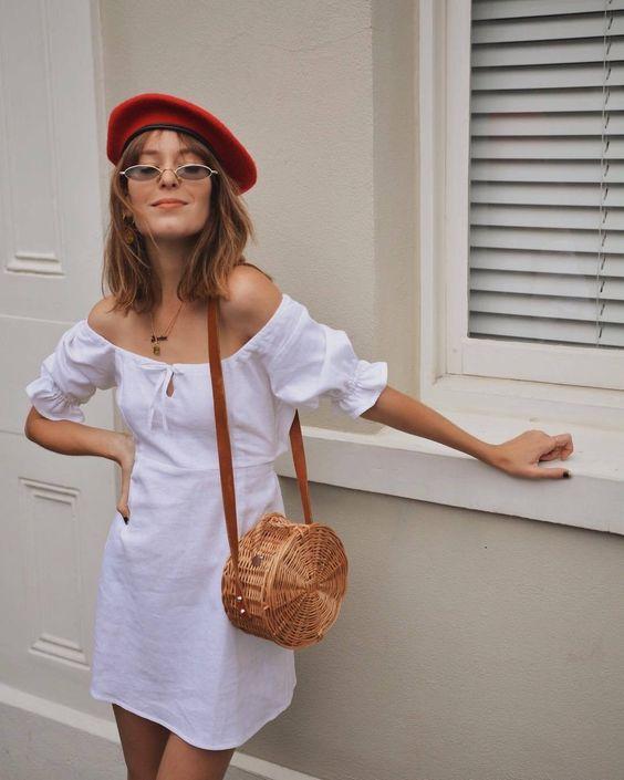 Как и с чем носить береты летом: подсмотрено у трендсеттеров