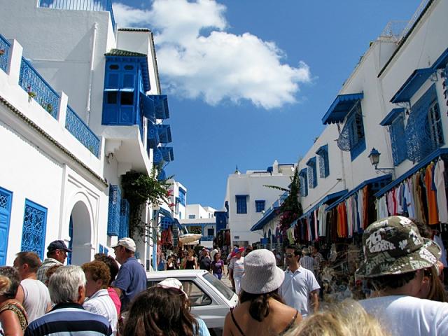 5 найбільш мальовничих селищ: Сіді-Бу-Саїд, Туніс