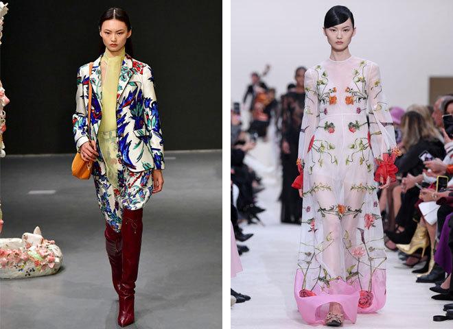Модные принты осень 2020