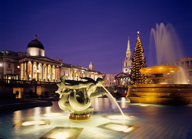 Лондон перед Новым годом