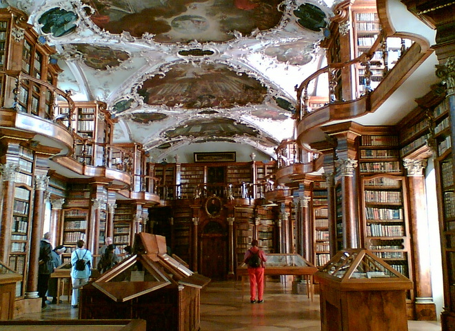 Библиотека монастыря святого Галла, Швейцария