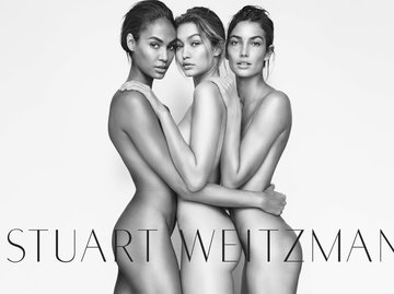 Рекламная кампания Stuart Weitzman