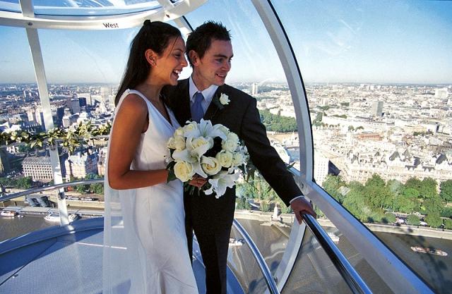 Незвичайні весільні церемонії: Великобританія
