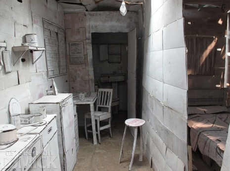 Картонная квартира в Чили