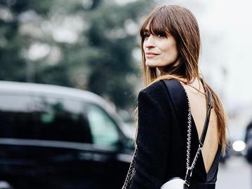 Каролін де Мегре в Парижі в пальто від українського бренду Litkovskaya