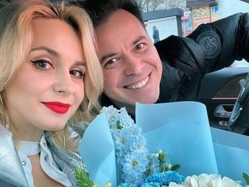 Лилия Ребрик и Андрей Дикий