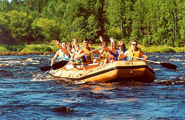 Водний туризм в Карелії