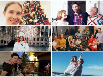 Как украинские звезды отметили Рождество: Instagram-отчет