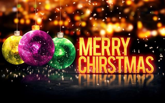 Очень красивая открытка с Рождеством