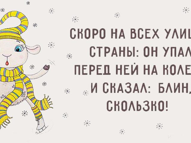 Смешные картинки с зимой с надписями, дню рождения
