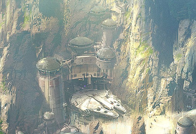 """Туристу на заметку: в США откроют первый в мире отель в стиле """"Звездных войн"""""""