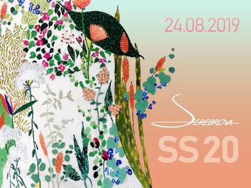 Fashion Show SEREBROVA SS20 на Пешеходном мосту через Днепр