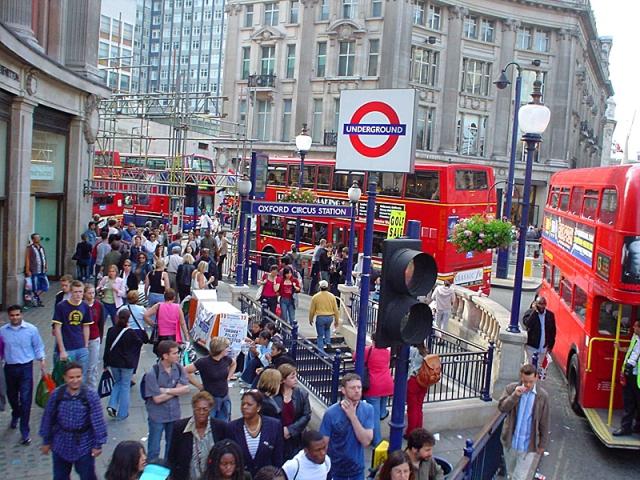 Самые запутанные метро мира: Лондон, Великобритания