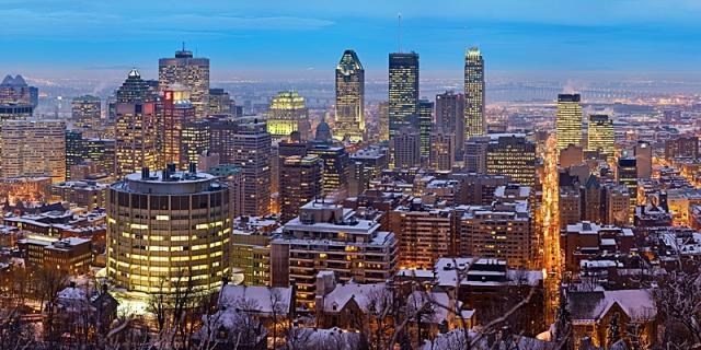 Монреаль з висоти