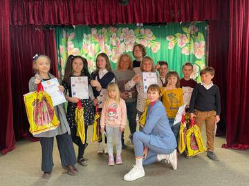 Всеукраїнський дитячий конкурс читців: учасники