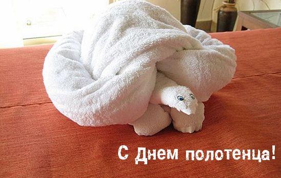 Поздравления с днем полотенца