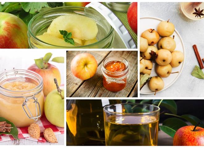 ТОП-5 вариантов консервации яблок на любой вкус