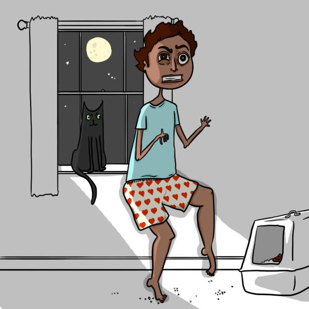 Комиксы про котов