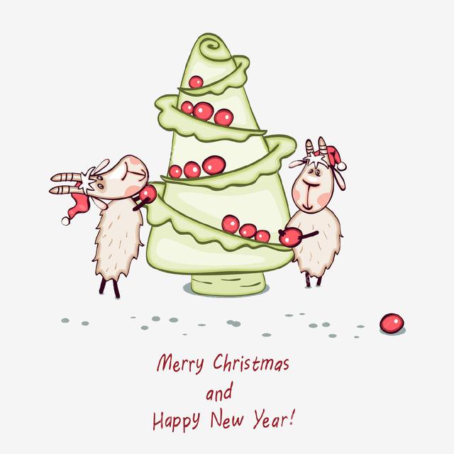 Овечьего Рождества и Нового года 2015