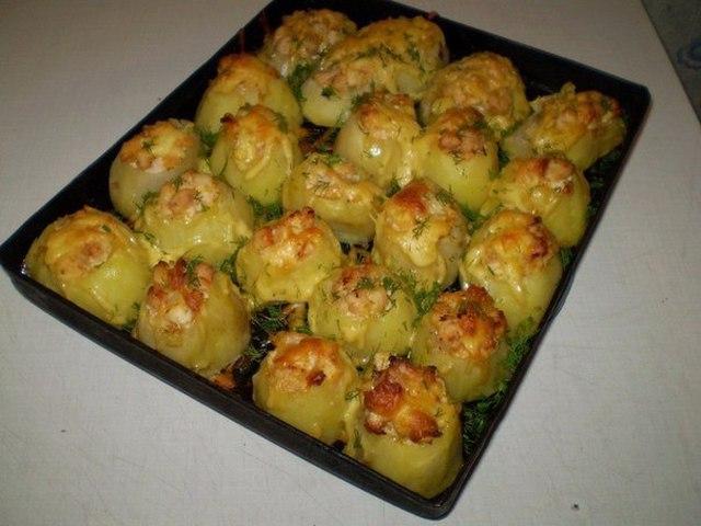 Рецепты приготовления картошки в духовке фото