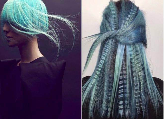 Гофре на волосах