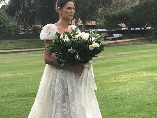 Бьянка Балті весільну сукню