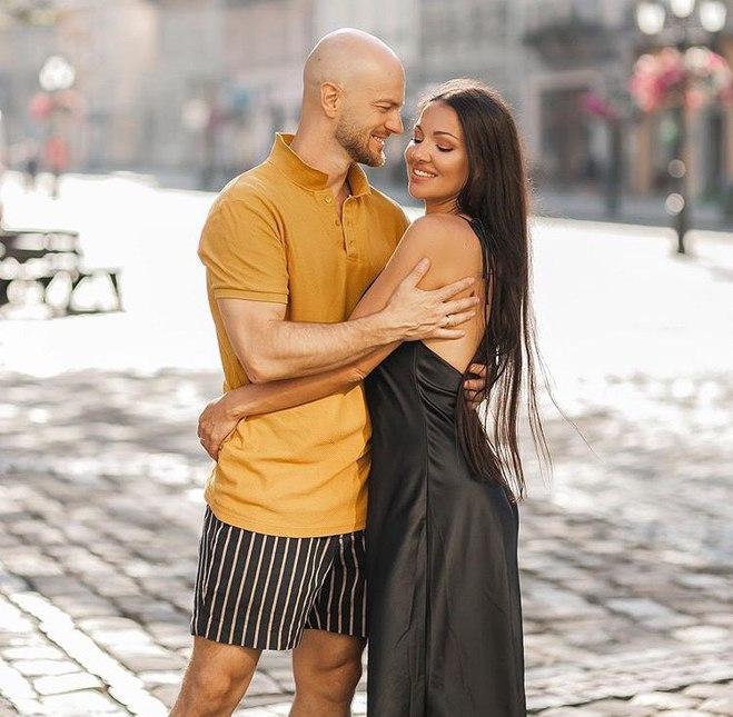 Влад Яма с женой Лилианой