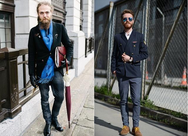Что одеть мужчинам на осень