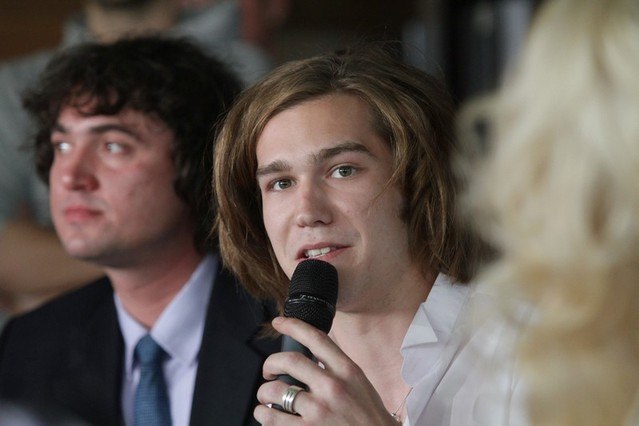 Мика Ньютон пресс-конференция