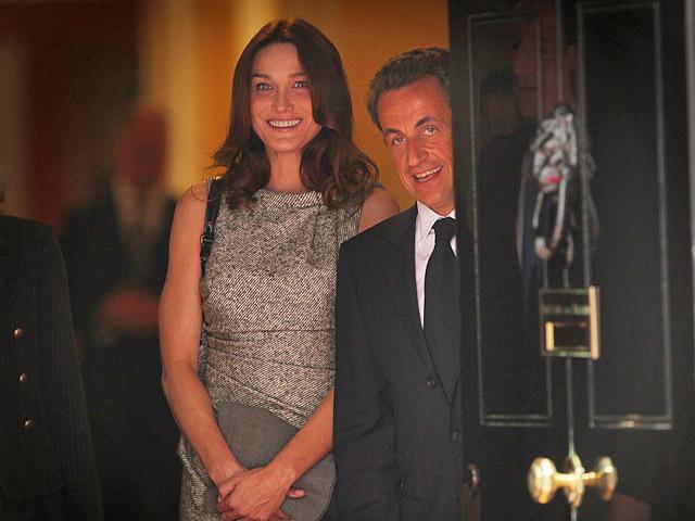 Ніколя Саркозі і Карла Бруні