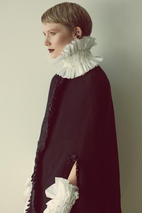 Міа Васиковська для журналу Flaunt