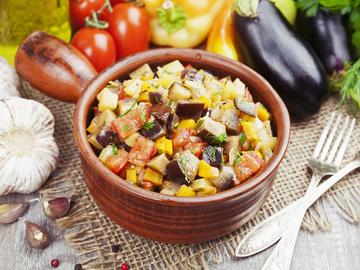 Салат з баклажанів