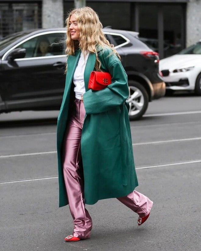 Тренды уличной моды на Неделе моды в Милане 2019