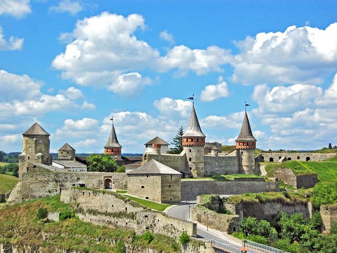 Каменец-Подольский, достопримечательности: Старый замок