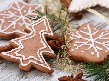Печиво домашнє, Імбирне печиво рецепт на Новий рік
