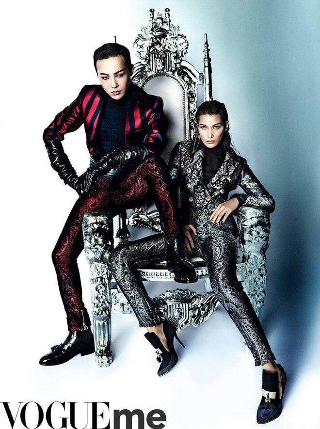 Белла Хадід в фотосесії для Vogue China