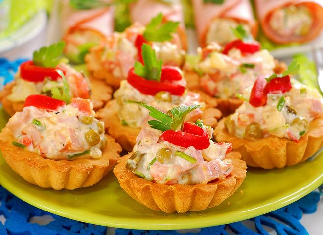 салаты на праздник с фото рецепты