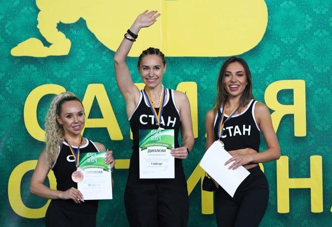 Самая спортивная мама: Виталина Ющенко победила в соревнованиях