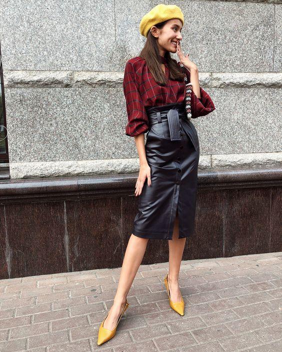 Открываем ножки: юбки на осень 2019