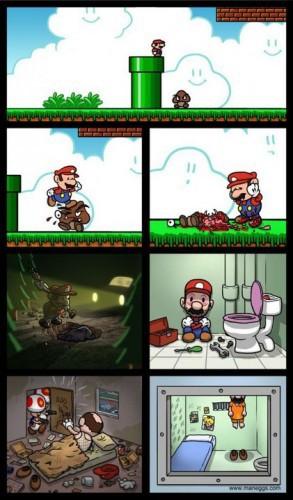 Альтернативная концовка Super Mario Bros